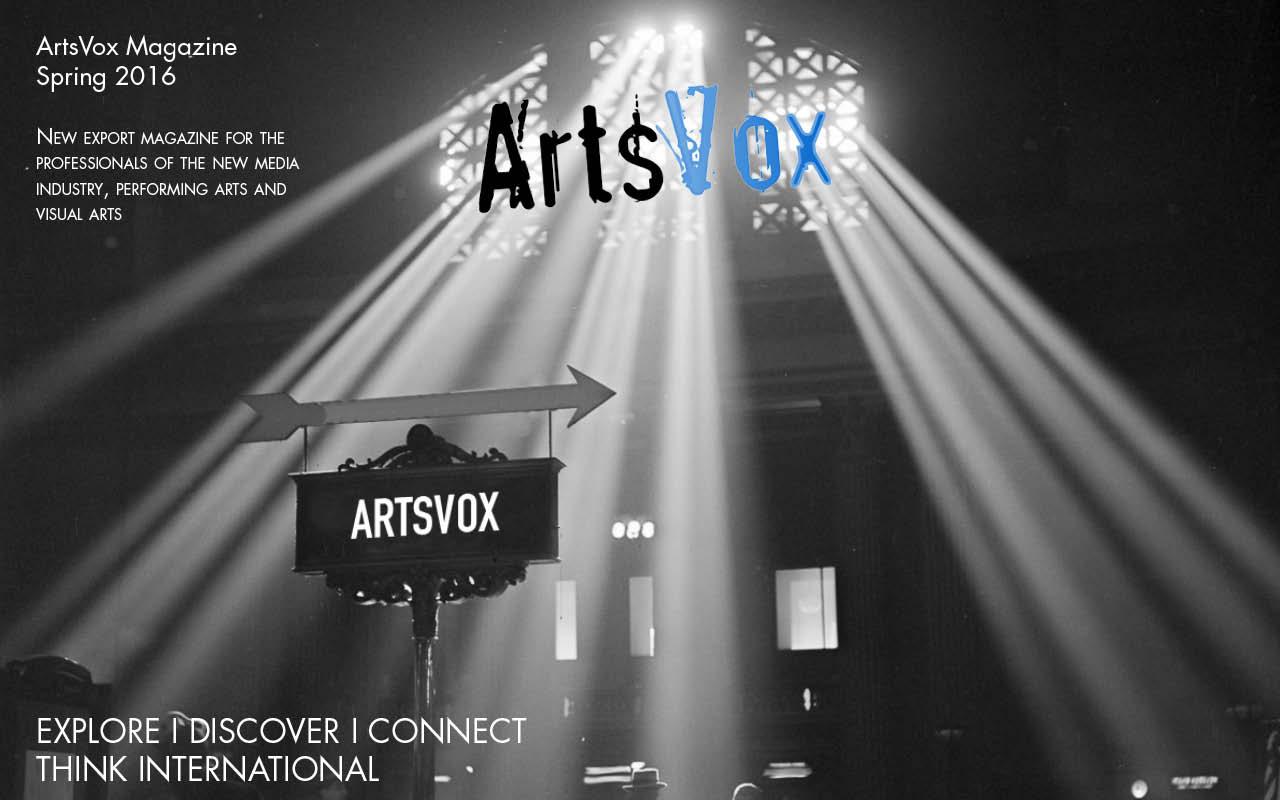 ArtsVox Magazine C5-cover